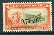 New Zealand KGVI 1940 Official 9d olive-green & vermilion SG.O150 MNH
