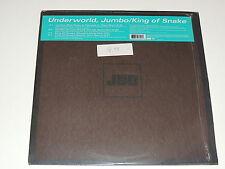 "UNDERWORLD jumbo / king of snake 12""x2 DOUBLE RECORD SET BREAKS HOUSE TECHNO"