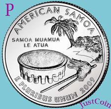 2009-P AMERICAN SAMOA QUARTER UNCIRCULATED FROM MINT DC & U.S.TERRITORIES