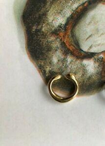 Gold Thin Ear Cuff (minimal casual weekday cos arket)