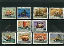 PENRHYN 1984 Sc#268-277 SAILING SHIPS SET OF 10 STAMPS MNH