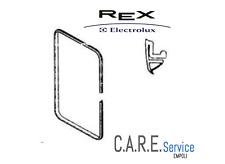 REX ELECTROLUX ZANUSSI ZOPPAS - GUARNIZIONE PORTA FORNO  mm.1595 - 50206535002