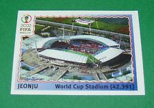 N°11 JEONJU STADE WORLD CUP PANINI FOOTBALL JAPAN KOREA 2002 COUPE MONDE FIFA