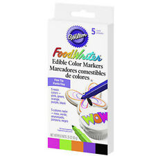 Wilton FoodWriter Neon Colour Edible Markers Pens Fine Tip - Cake Supplies Icing