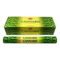 Encens Cannabis 20 bâtonnets Hem hexa 1 boîte ou 2/3/4/5/6 boîtes