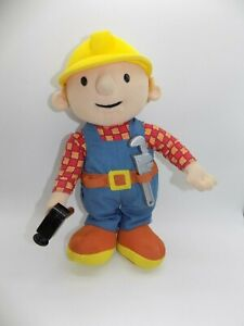 "2001 Talking Bob the Builder 10"" Plush"
