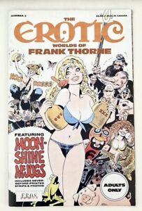 Erotic Worlds of Frank Thorne #3 (1990 Fantagraphics Book/Eros) VF