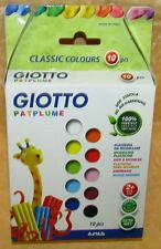GIOTTO PATPLUME PLASTILINA DA MODELLARE 10 PEZZI COLORE CLASSICO cod.17418
