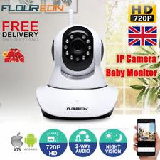 Wireless HD 720P IP Camera Home CCTV Security Network Night Vision WiFi Webcam