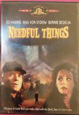 Needful Things DVD (1993 film  Castle Rock, 2002 release OOP) Mint Disc free shp