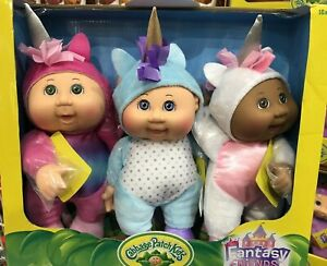 """Cabbage Patch Kids 9"""" Fantasy Friends Collectible Cuties Unicorn Doll Baby NEW"""