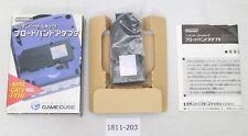 [Free ship] GameCube Broadband Adapter box DOL-015 Nintendo Official Work 2