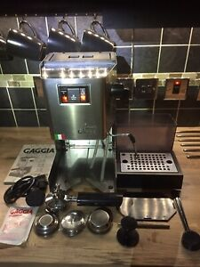 GAGGIA CLASSIC 2006 COMPLEATLY REBUILT/UPGRADED 100% ITALIAN MACHINE🇮🇹!!