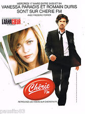 PUBLICITE ADVERTISING 065  2010  CHERIE FM   film ARNACOUEUR VANESSA PARADIS