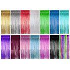 Shimmer Foil Door Curtain / curtains Decoration -Party Supplies - Choose colour