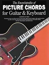 Encyclopedia Of Picture Chords Guitar Keyboard Learn Piano Music Book LESSON