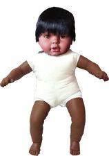 Bonito muñeco negrito de 62 cm para vestir