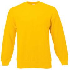 Sweats de fitness jaunes pour homme