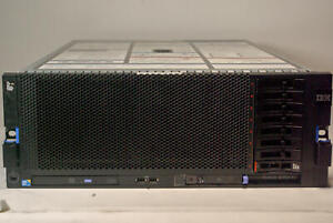 IBM System X3850 X5 Server Quad X7560 8 CORE 2.27GHz 256GB DDR3 1x 250GB SATA
