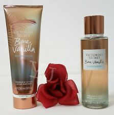 VICTORIA SECRET - BARE VANILLA SUNKISSED - FRAGRANCE LOTION & MIST (SET) - NEW