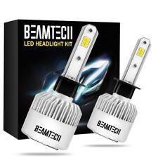 H1 CSP LED Headlight Bulbs High Beam or Low Beam 72W 8000LM 6500K White