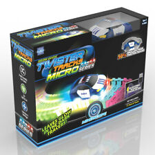 Mindscope Twister Tracks Glow Micro Track Set with Rechargeable Police Car