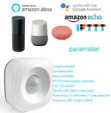 Google home smart wireless PIR motion sensor detector  for smart home Alexa Echo