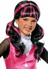 Monster High Draculaura Pink & Black Wig