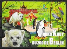 EISBär-Knuth-Pinguine/ Guinea MiNr Block 2012 **