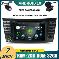 Car Stereo For Mercedes Benz Klasse E/CLS/G Class W211 W219 Android 10 Car Play