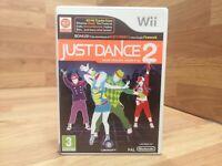 🌟Wii JUST DANCE 2🌟Nintendo wii Games🌟Nintendo Wii & Wii U PAL🌟