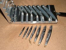 Saltwater D Jig mold 1/2,3/4,1,1.5,2,3,4oz CNC Aluminum Diamond