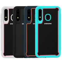 For Samsung Galaxy A10e A20 A50 Shockproof Heavy Duty Bumper Rubber Hard Case