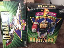 Mighty Morphin Power Rangers Ninja Megazord & Falconzord W/ Original Box MMPR