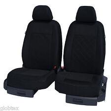 Vordersitzbezüge Sitzbezüge Schonbezüge Schwarz Universal passend für Daihatsu