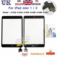 Screen For iPad mini 1 2 Touch Digitizer Replacement With Home Button + IC Black