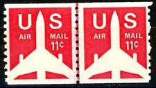 Airliner Coil Line Pair Fine Centering MNH Scott's C82