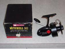 Vintage Garcia Mitchell 302 spinning reelin original box, nice reel