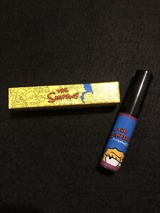MAC - Itchy & Scratchy & Sexy Lipglass The Simpsons Collection - New in Box