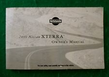 2000 00 Nissan Xterra Owners Manual, P31A