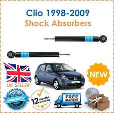 Para Renault Clio 1998-2009 dos amortiguadores de choques Trasero Set Par Shockers Nuevo