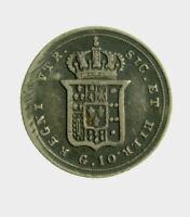 s834_24) Napoli  Ferdinando II (1839-1859) Carlino 10 grana 1847