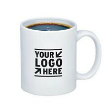 Coffee Mugs 11ozWhite Custom Printed with Your Logo or Message 72ea