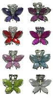 Set of 8 Mini Butterfly Claw Clips Jaw Clips Hair Clips for Women Girls P0028