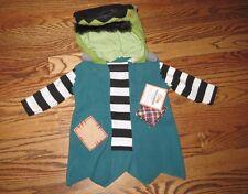 NWT Pottery Barn Kids Baby Frankenstein costume 0-6 months 3 Halloween mos