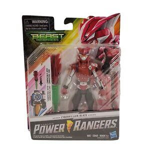 "Power Rangers Beast Morphers Cybervillain Blaze 6"" Action Figure Morph X-Key New"