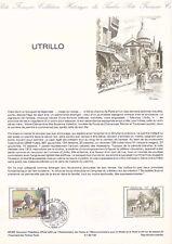 Document philatélique 40-83 1er jour 1983 Maurice Utrillo Le lapin agile Peintre