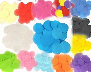 Tissue Paper Confetti Round 25mX14g Wedding Party Flame Retardant Bio-degradable