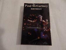 PAUL McCartney Cassette Single: BIRTHDAY /GOOD DAY SUNSHINE NEW! STILL SEALED!!