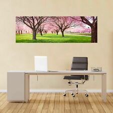 Cherry Blossom Trees Garden Panoramic Wall Sticker Mural Decal Home Decor BC3